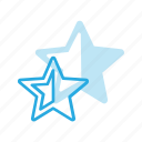 awward, half, rate, rating, reward, star icon