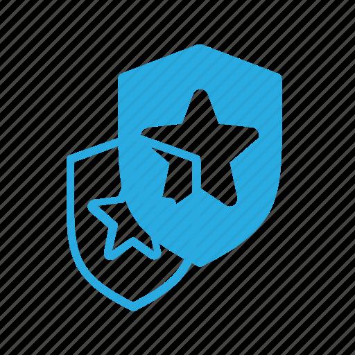 Awward, favorite, reward, shield, star icon - Download on Iconfinder