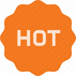 award, badge, hot, reward, sticker icon