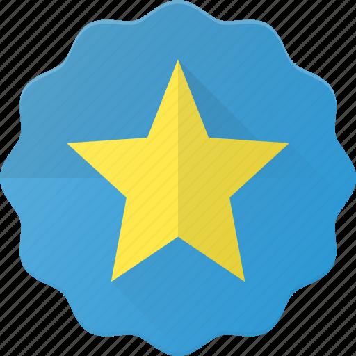 Award, badge, favorit, reward, star icon - Download on Iconfinder