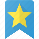 award, badge, bookmark, favorit, reward, star