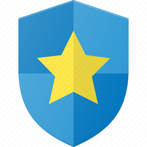 award, favorite, reward, shield, star icon