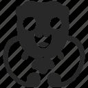 alien, creature, germ, monster, wacky, weird icon