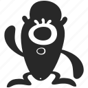 alien, creature, monster, wacky, weird icon