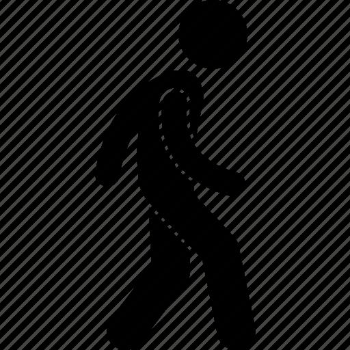 walk, walking icon
