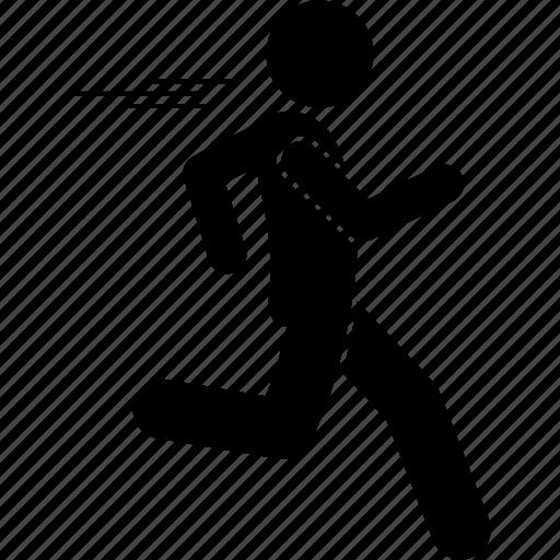 jog, jogger, jogging, run, running icon