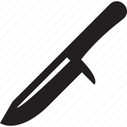 danger, knife, military, sharp, war, weapon icon