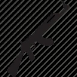 ak47, gun, kalashnikov, military, war, weapon icon