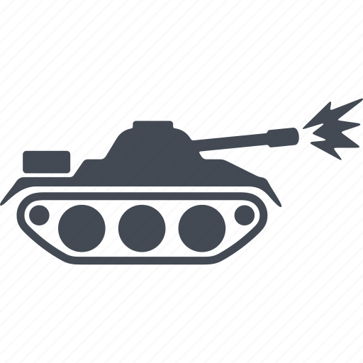 army, defense, military, peace, tank, war, weapon icon