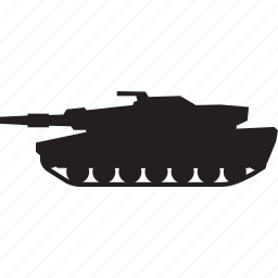 gun, military, shoot, tank, war icon