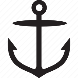 anchor, marine, sea, ship, war icon