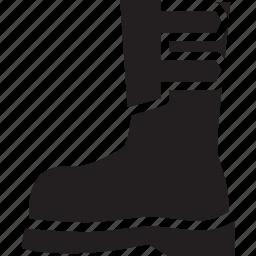 boot, foot, shoe, wear icon