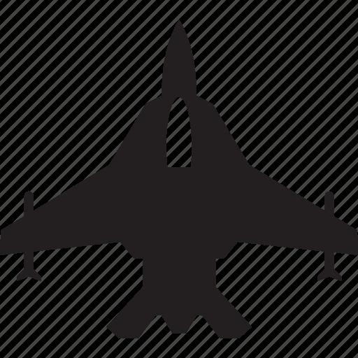 air, aircraft, military, plane, shoot, war icon