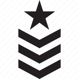 army, chevron, military, rank, sergeant, war icon