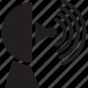 connection, dish, network, satellite, wireless