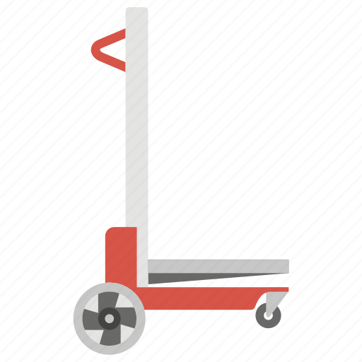 industrial lifter, lifter, store lifter, supermarket crane, warehouse lifter icon