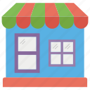 grocery store, retail shop, shop, shop architecture, store, supermarket icon