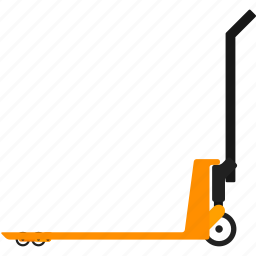 cargo truck, cart, delivery, handtruck, logistics, transportation, warehouse icon