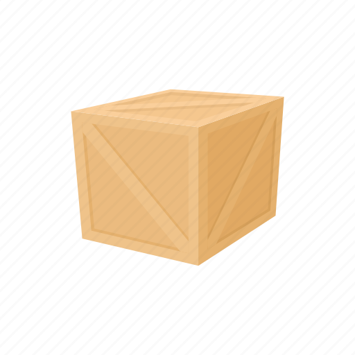 box, carton, container, freight, package, storage, wood icon