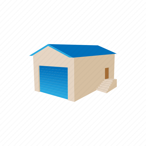 building, cargo, carton, industry, storage, warehouse, workplace icon