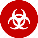 bio hazard, chemical, hazard, poison, toxic icon