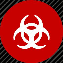 bio hazard, chemical, hazard, poison, toxic icon