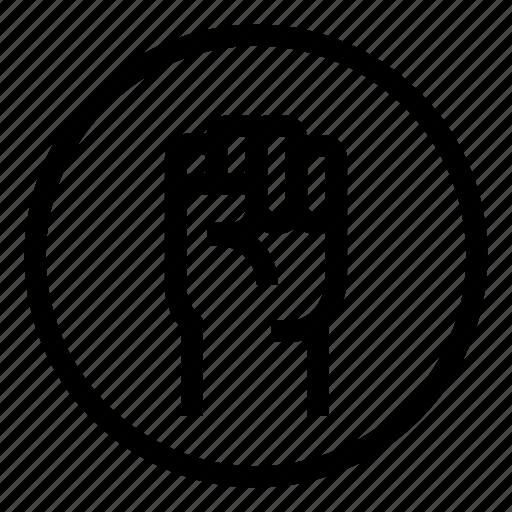 Fist, gulag, revolution, warzone icon - Download on Iconfinder