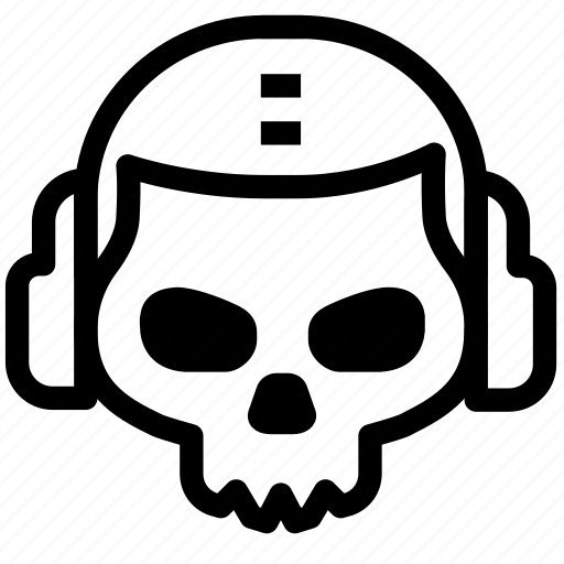 Death, ghost, mask, skull, warzone icon - Download on Iconfinder