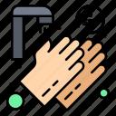 hands, medical, seconds, twenty, washing icon