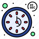 clock, seconds, time, timer icon