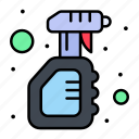 bottle, cleaning, solid, spray, virus
