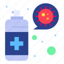 cleaning, protection, spray, virus