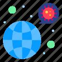 bacteria, covid, coronavirus, worldwide, virus icon