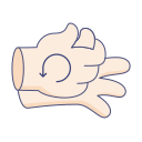 clean, coronavirus, gesture, hand, instruction, wash icon