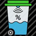 level sensor, measuring sensor, motor sensor, percentage sensor, ultrasonic water sensor, water percentage icon