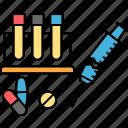 biomedical waste, chemical waste, clinical waste, hospital waste, injection wastes, medical waste icon
