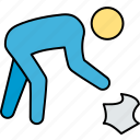 cleaning, garbage removing, housekeeping, laundry cleaning, road cleaning, trash cleaning icon