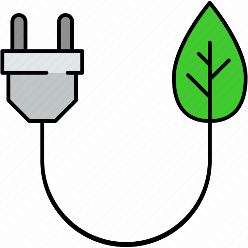 electricity, energy charging, energy producing, green charging, green energy, greenery, natural energy icon
