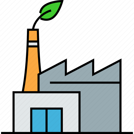 green factory, green industry, green planting, greenhouses, leaf industry, plant growing icon
