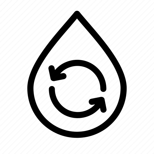 drink, drop, liquid, nature, purity, water icon