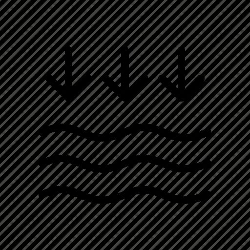 beach, boat, ocean, sea, water icon