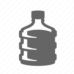 barrel, bottle, canister, drinking, liquid, plastic, water icon