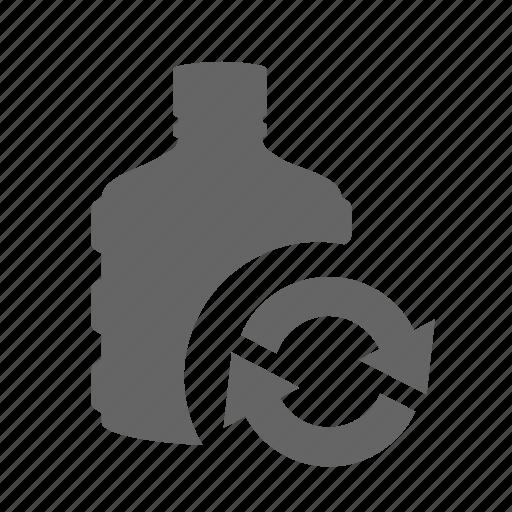 barrel, container, liquid, plastic, refill, replenish, water icon