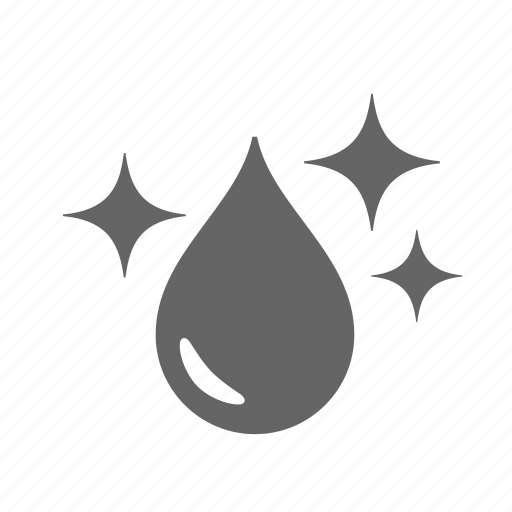 cleaner, drop, healthy, liquid, purified, purity, water icon