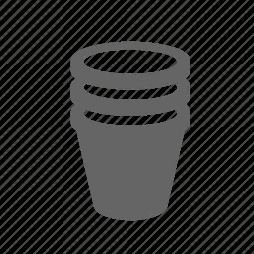 cup, drink, glass, liquid, mug, plastic, water icon