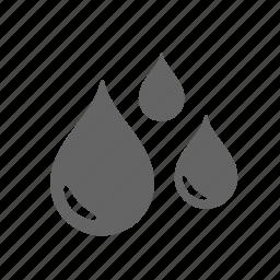 aqua, distribution, drinking, drop, liquid, rain, water icon