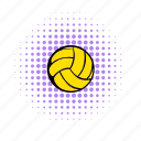 activity, ball, comics, game, play, sport, volleyball icon