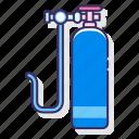 oxygen, tank, diving