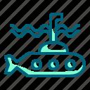 marine, military, sea, submarine, underwater, warship