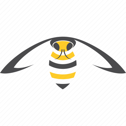 flying, insect, wasp icon